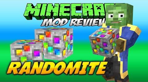 Randomite Mod 1.7.10
