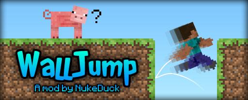 Wall Jump - прыжок от стены, двойной прыжок [1.12.2] [1.7.10]