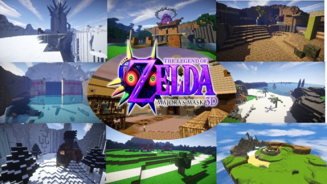 Majoras Mask 3DS Resource Pack 1.8.3/1.8/1.7.10/1.6.4 [128x]