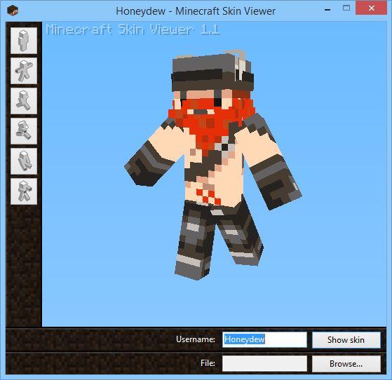Minecraft Skin Viewer 1.9/1.8.9/1.8 [Win/WP]