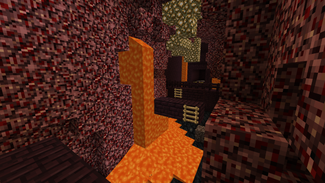 Lava and Slime Parkour Map 1.8.7/1.8