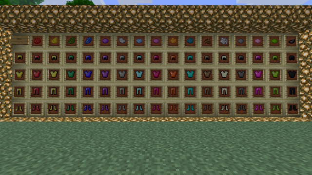 Colorful Armor [1.10.2] [1.9.4] [1.8] [1.7.10]