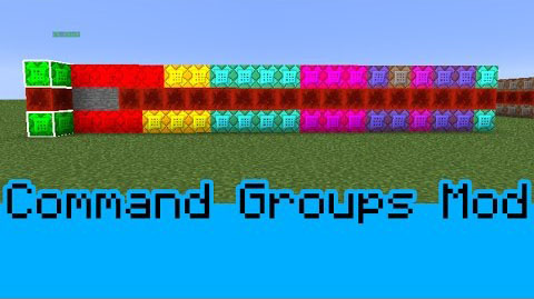 Command Group Mod 1.8