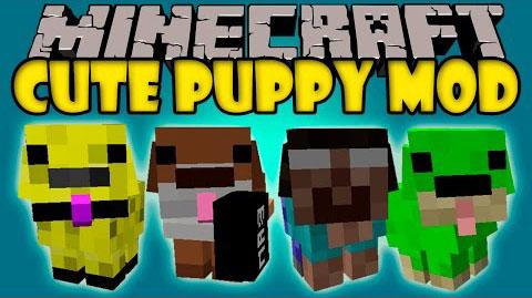Cute Puppy - милые щенки [1.12.2] [1.10.2] [1.7.10]