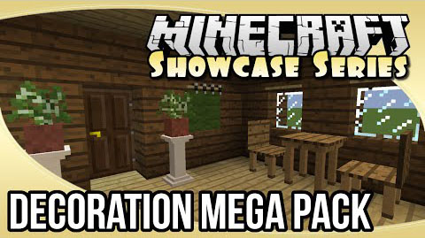 Decoration Mega Pack Mod 1.8