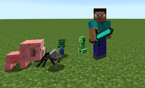 Iskall Mini Mobs Mod 1.7.10