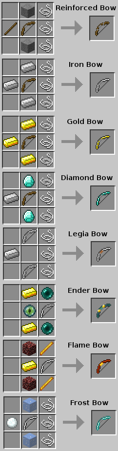 More Bows Mod 1.8 by LucidSage