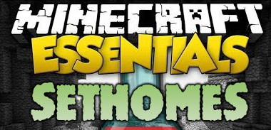 SetHomes Mod 1.7.10/1.6.4