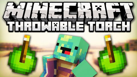 Throwable Torch [1.10.2] [1.9.4] [1.8.9] [1.7.10]