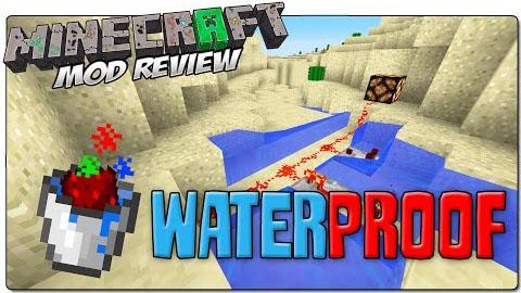 Waterproof Mod 1.7.10