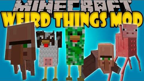 Weird Things Mod 1.8/1.7.10