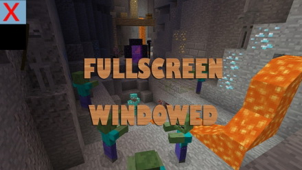 Fullscreen Windowed [1.11.2] [1.10.2] [1.9.4] [1.8.9]