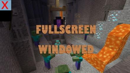 Fullscreen Windowed [1.11.2] [1.10.2] [1.9.4] [1.8.9]