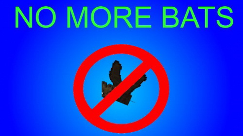 No bats Mod 1.7.10