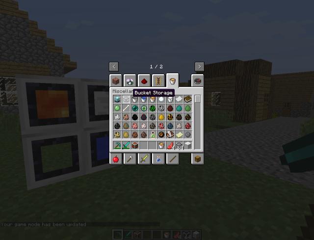 Bucket Storage Blocks Mod 1.8