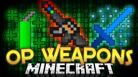 Admin Weapons Mod 1.8/1.7.10