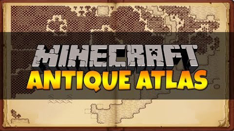 Antique Atlas [1.10.2] [1.9.4] [1.8.9] [1.7.10]