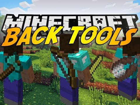 Back Tools [1.12.2] [1.10.2] [1.8] [1.7.10]