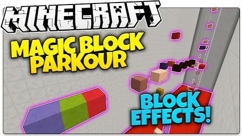 Block Parkour Map 1.8.7/1.8