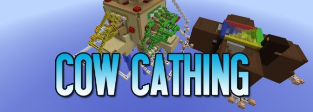 Cow Cathing Minigame Map 1.7.2
