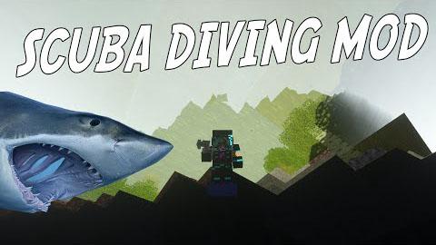 Deep Sea Diving Mod 1.7.10