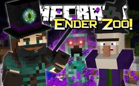 Ender Zoo [1.12.2] [1.11.2] [1.10.2] [1.7.10] (новые эндер мобы)