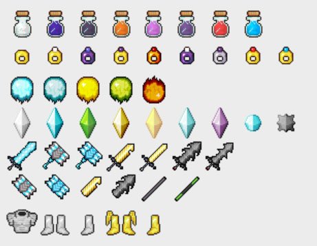 Gods Weapons [1.10.2] [1.9.4] [1.7.10]