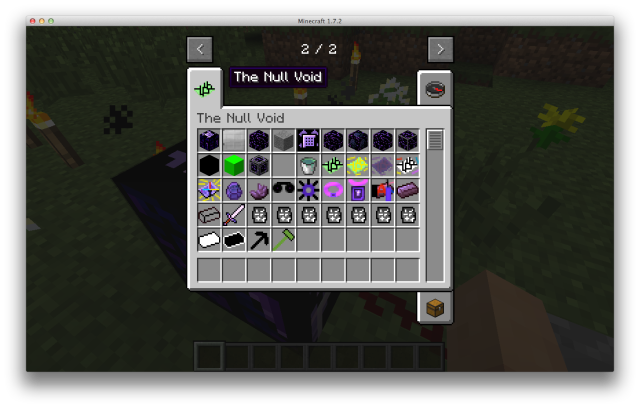 The Void Mod 1.7.10/1.7.2