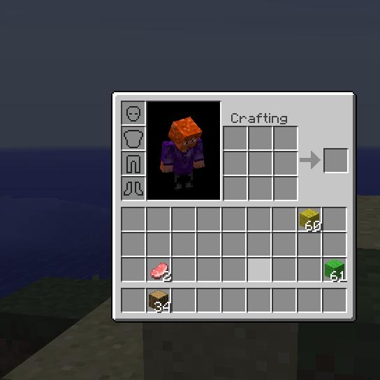 Inventory Crafting Grid Mod 1.8/1.7.10