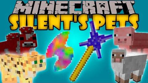 Silent's Pets Mod 1.7.10
