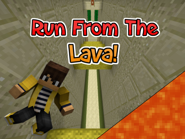 Super Lava Run Map 1.8.7/1.8