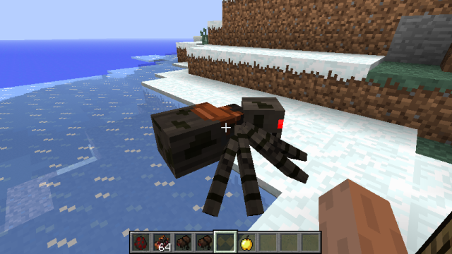 Rideable Spiders Mod 1.7.10/1.7.2/1.6.4