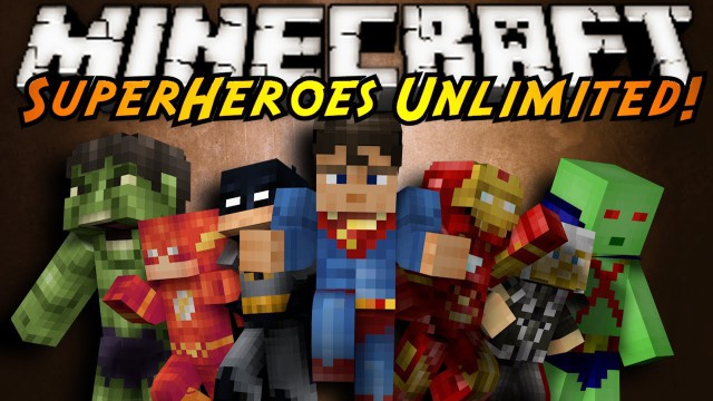 Superheroes Unlimited [1.7.10] [1.6.4] (супергерои)