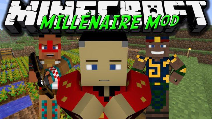 Minecraft скачать millenaire.