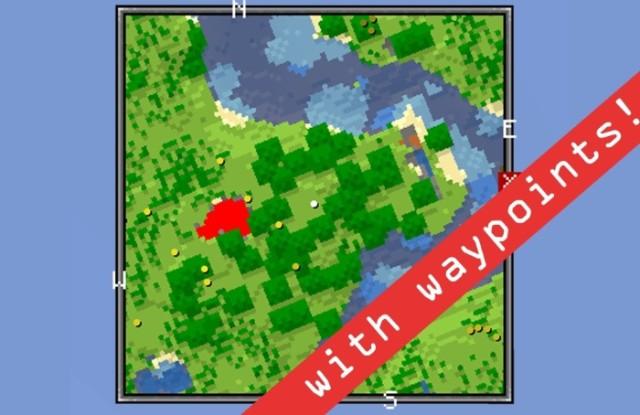 Xaero's Minimap [1.12.2] [1.11.2] [1.10.2] [1.8.9] [1.7.10]