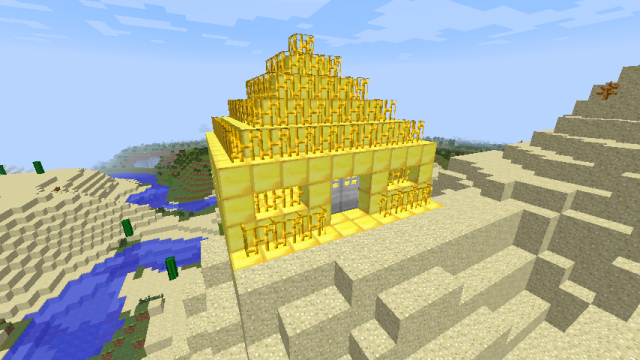 Golden Bars Mod 1.7.10