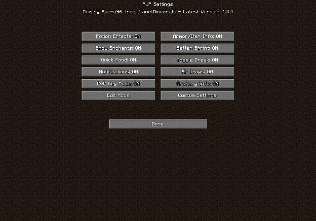 Better PvP [1.13.2] [1.12.2] [1.11.2] [1.10.2] [1.7.10]