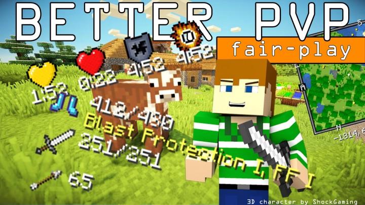 """Better PvP """"Fair-Play"""" [1.13.2] [1.12.2] [1.11.2] [1.10.2] [1.7.10]"""