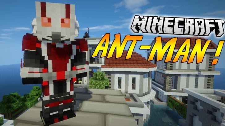 AntMan (человек-муравей) [1.8.9] [1.7.10]