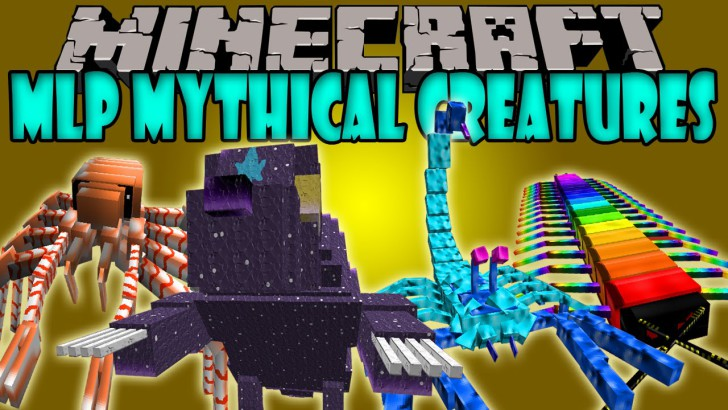 MLP Mythical Creatures 1.7.10