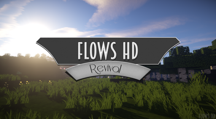 Flows HD [1.13] [1.12.2] [1.11.2] [1.10.2] [1.7.10] (64x, 128x)