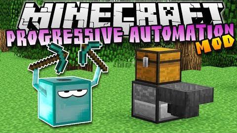 Progressive Automation - автоматические фермы и шахты [1.12.2] [1.11.2] [1.10.2] [1.9.4] [1.7.10]