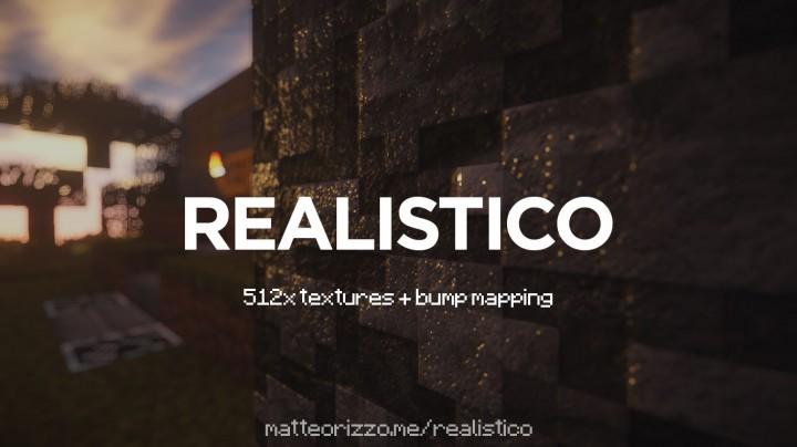 Realistico [1.13.2] [1.12.2] [1.11.2] [1.10.2 - 1.8.9] (256x, 512x)