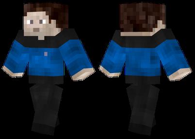 Синяя униформа из Звездного пути