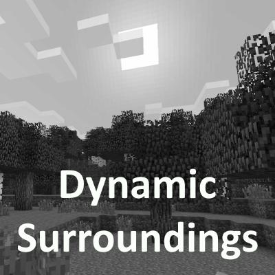 Dynamic Surroundings [1.12.2] [1.10.2] (реалистичные эффекты погоды)