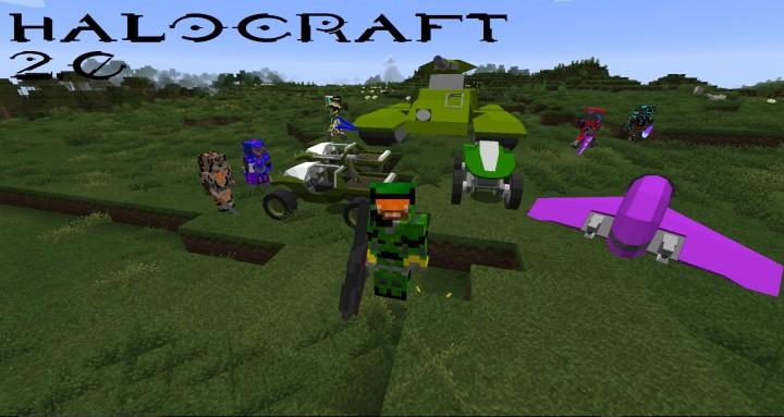 HaloCraft [1.10.2] [1.9] [1.8.9]