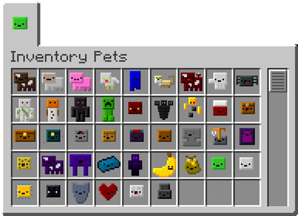 Inventory Pets [1.10.2] [1.9.4] [1.8.9] [1.7.10]