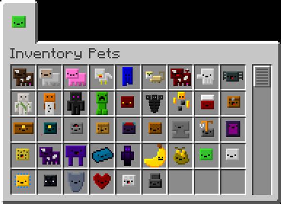 Inventory Pets - карманные животные [1.12.2] [1.11.2] [1.10.2] [1.7.10]