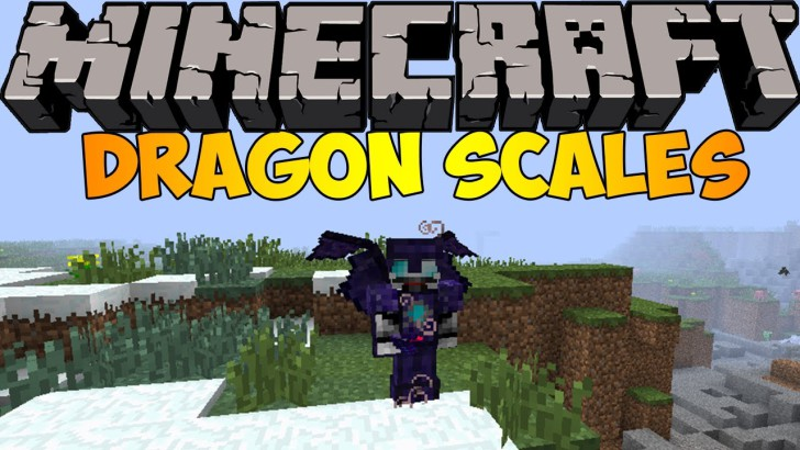 Dragon Scales Mod 1.7.10