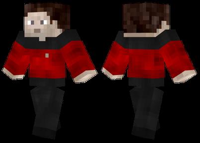 Красная униформа из Звездного пути